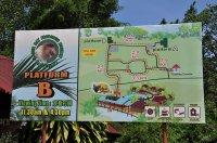 szyld informacyjny w zoo