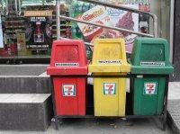 kosze do segragacji śmieci